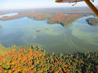 Lake Lavieille Algae Bloom - September 2014