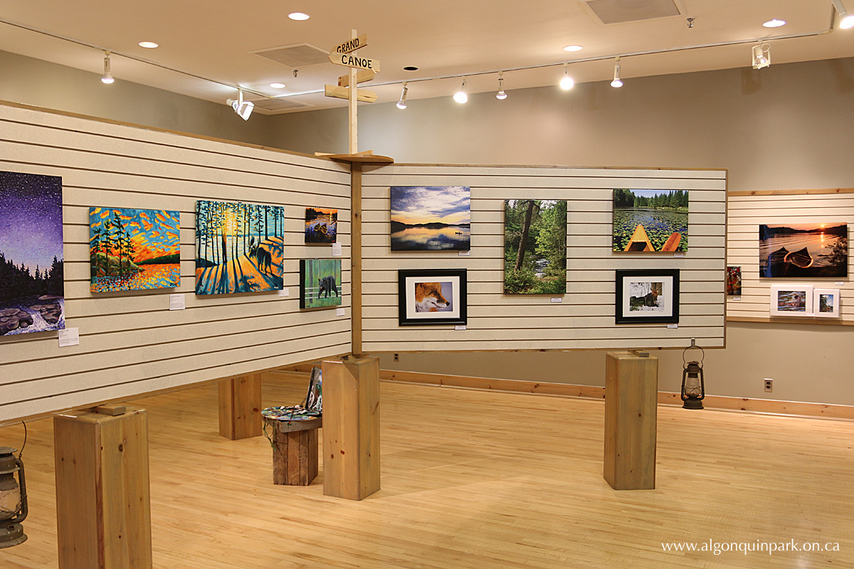 Special Art Exhibit in Algonquin Park - Along the Trail: Images Inspired by the Beauty of Algonquin Park