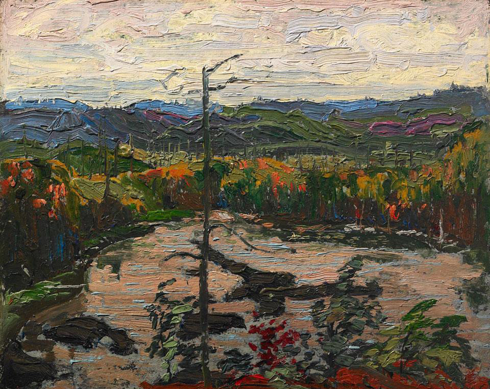 Tom Thomson's View from a Height, Algonquin Park (1916)