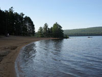 Achray Campground Beach Grand Lake