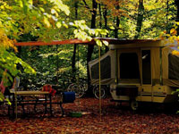 Canisbay Campground Trailer