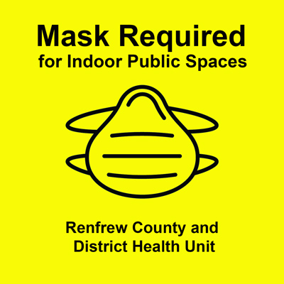 Mask Required for Indoor Public Spaces in Algonquin Park