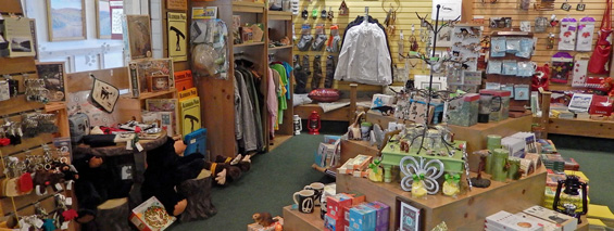 Retail at the Algonquin Park Visitor Centre Bookstore and Nature Shop