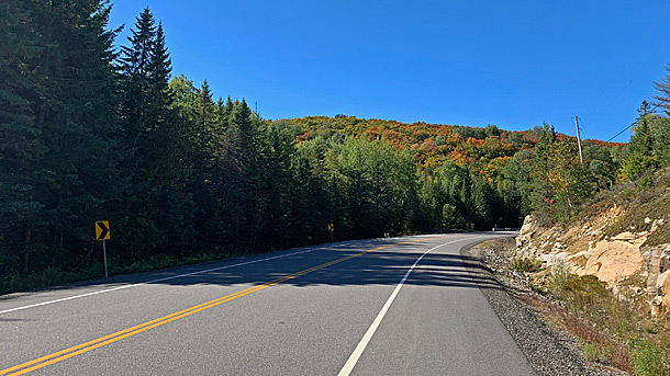 Near West Smith Lake in Algonquin Park on September 17, 2020