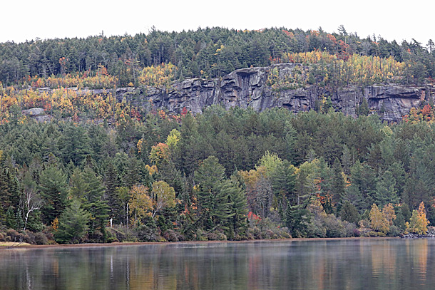 Booth's Rock Trail in Algonquin Park on October 2, 2020