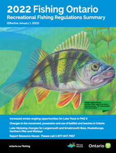 Ontario Fishing Regulations Summary