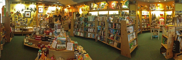 The Friends of Algonquin Park's Bookstore and Nature Shop at the Algonquin Park Visitor Centre.