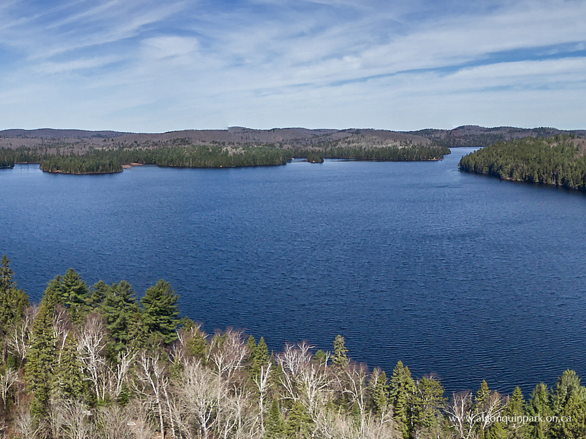Lake Opeongo in Algonquin Park