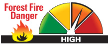 Algonquin Park Forest Fire Danger Rating