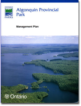 Algonquin Park Management Plan