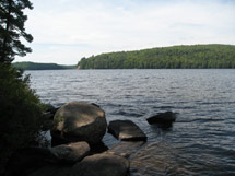 Booth's Rock Trail in Algonquin Park