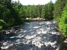 Whitewater Canoeing Algonquin Provincial Park The