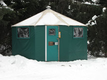 Yurt Mew Lake Campground